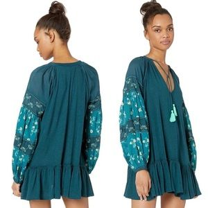 Free people mix it up embroidered tunic